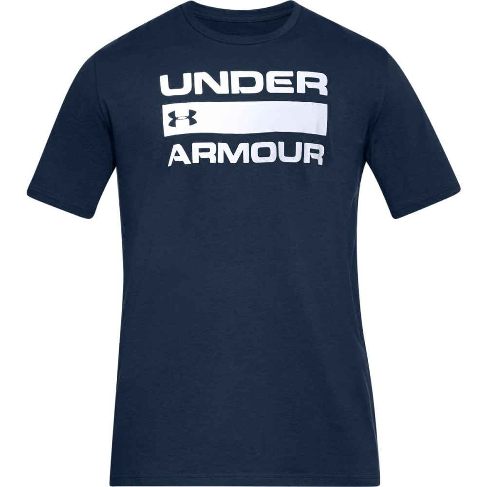 Under Armour Men's Ua Team Issue Wordmark Short-Sleeve Tee - Blue, L