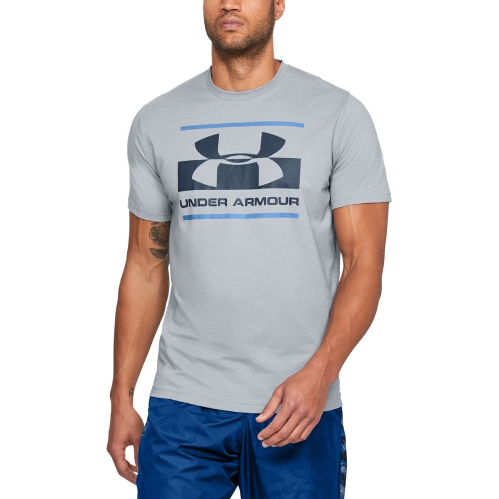 UNDER ARMOUR Men's UA Sportstyle Logo Short-Sleeve Tee - STEEL-035