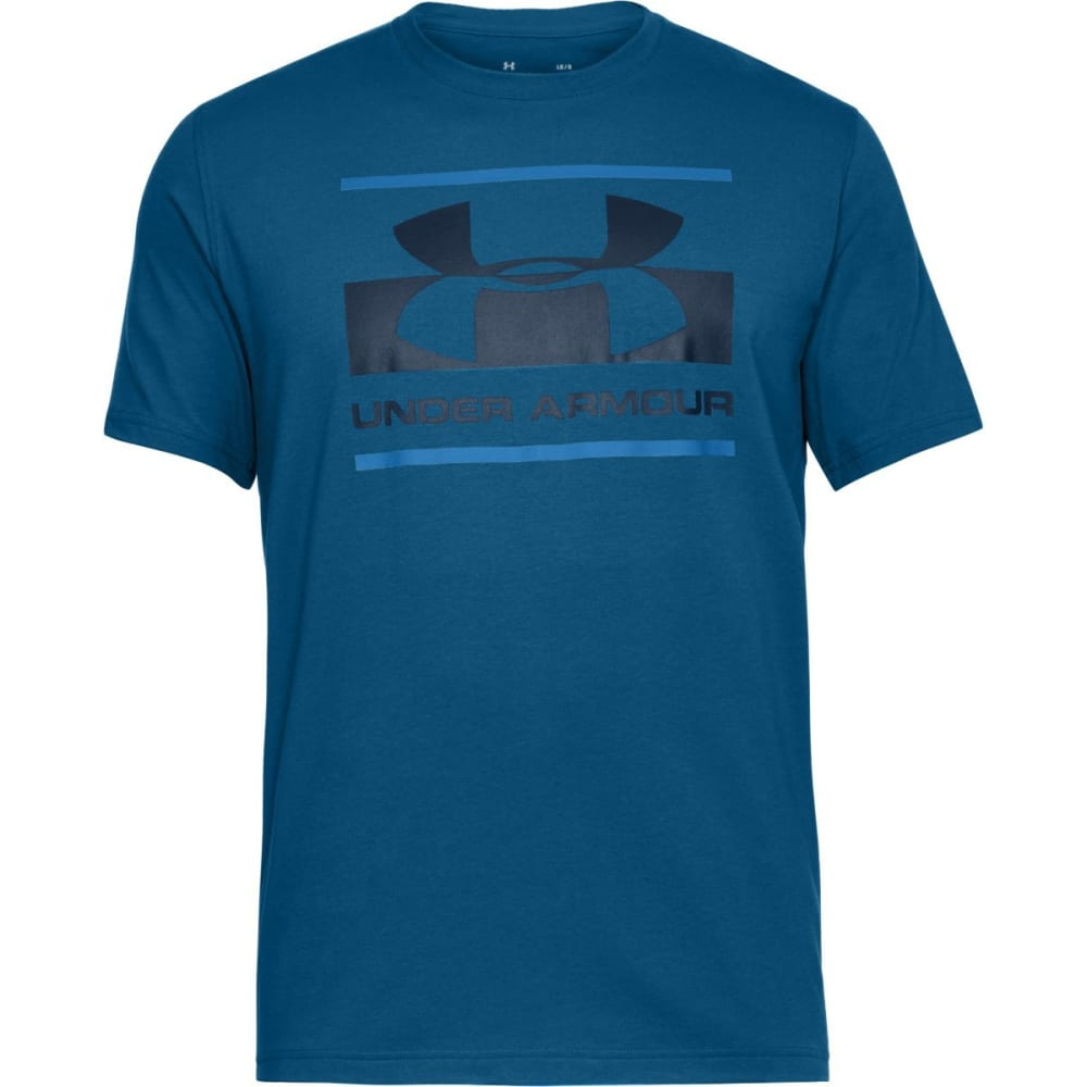 UNDER ARMOUR Men's UA Sportstyle Logo Short-Sleeve Tee - MOROCCAN-487