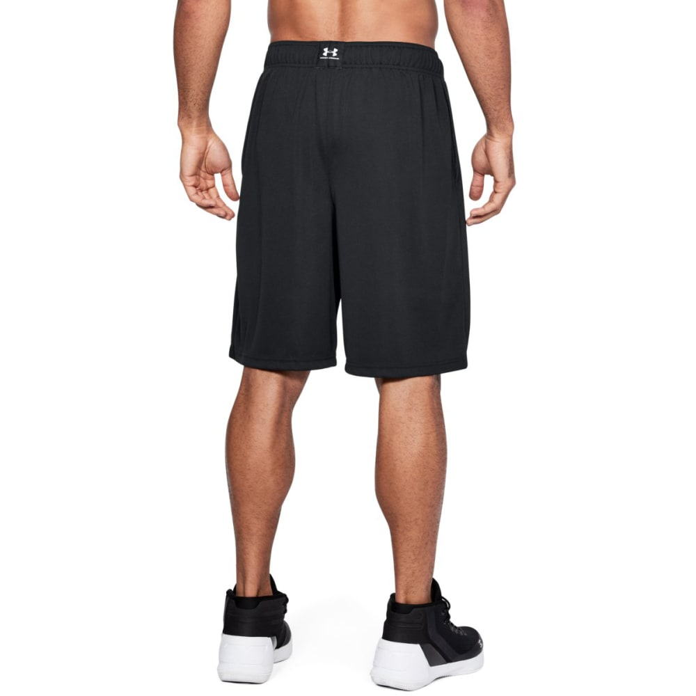 UNDER ARMOUR Men's 10 in. UA Baseline Basketball Shorts - BLACK/BLACK-001