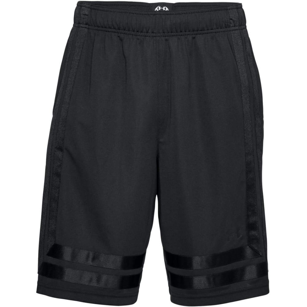 UNDER ARMOUR Men's 10 in. UA Baseline Basketball Shorts - BLACK/BLACK-001