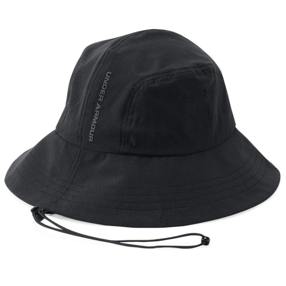 UNDER ARMOUR Men's UA ArmourVent Warrior Bucket 2.0 Hat - BLACK/GRAPHITE-001
