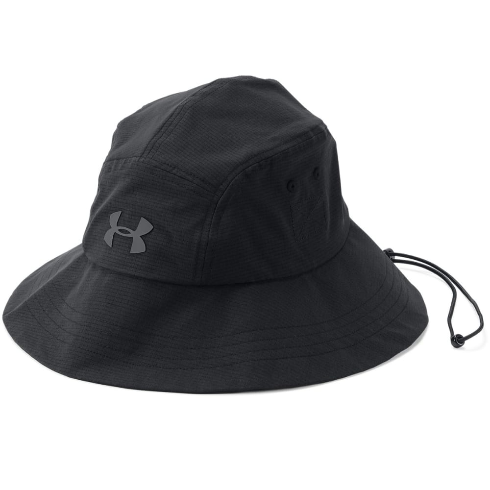 UNDER ARMOUR Men's UA ArmourVent Warrior Bucket 2.0 Hat - BLACK/GRAPHITE-001