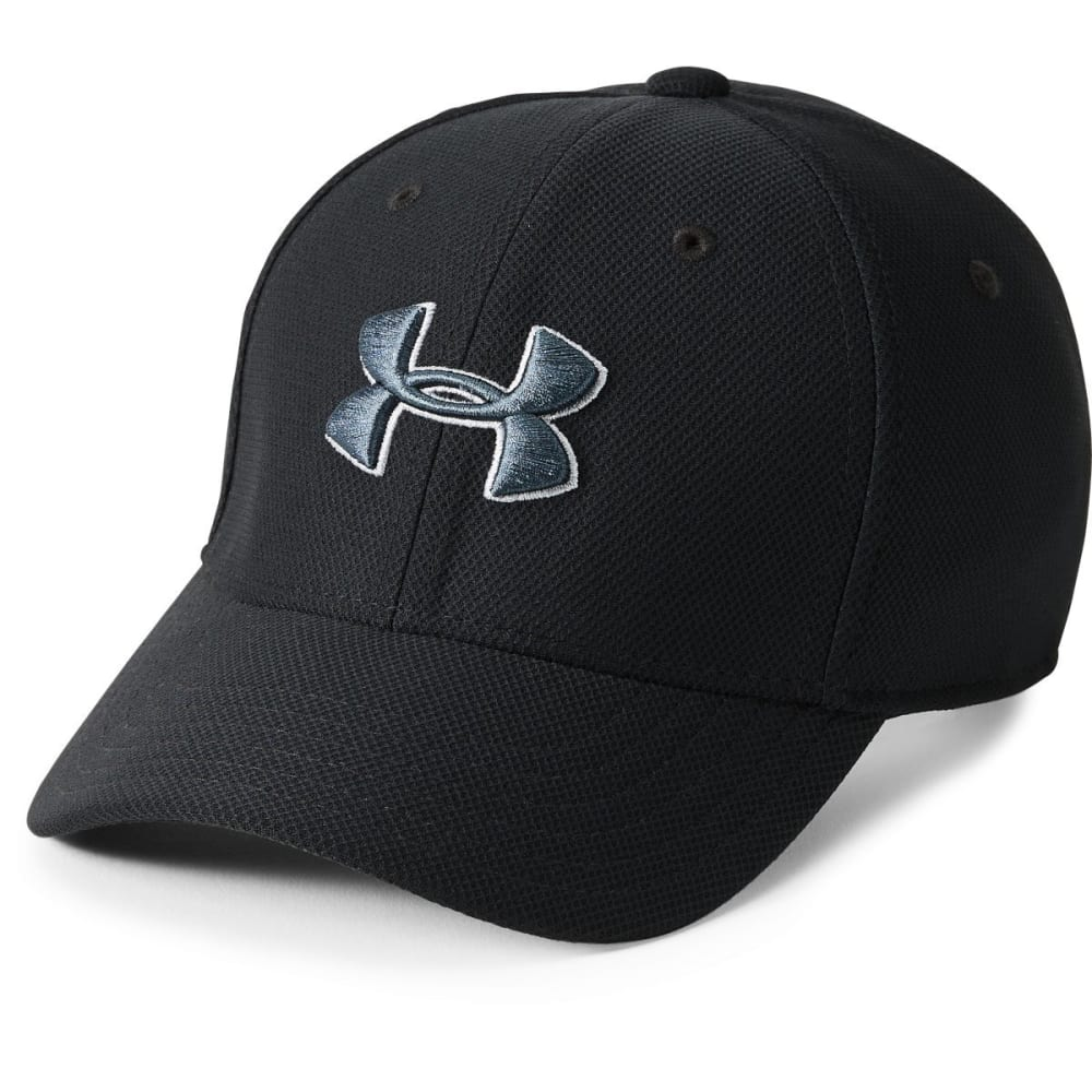 UNDER ARMOUR Boys' UA Blitzing 3.0 Cap - BLACK/GREY 001