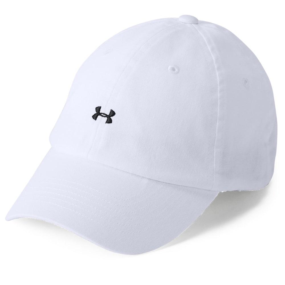 UNDER ARMOUR Women's UA Favorite Logo Cap - WHITE-100
