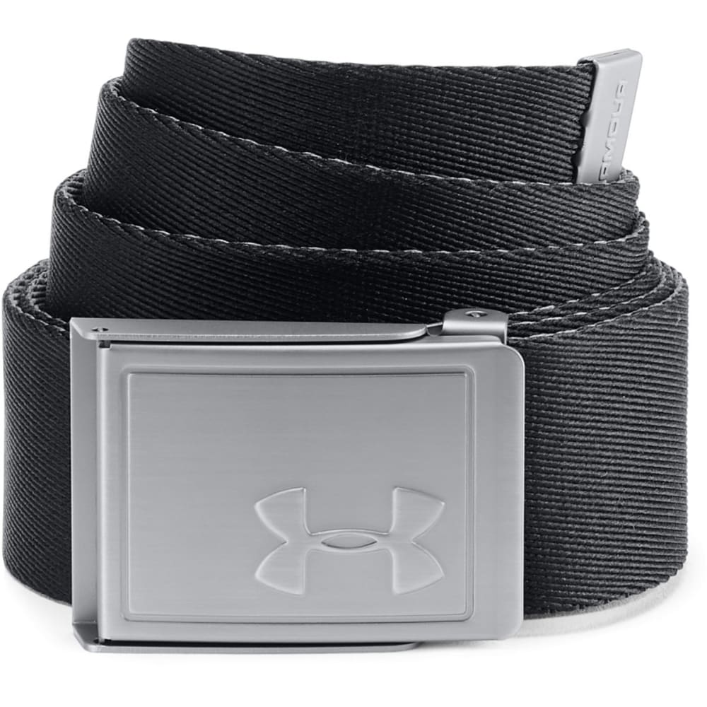 UNDER ARMOUR Men's UA Webbing 2.0 Golf Belt - BLACK-001