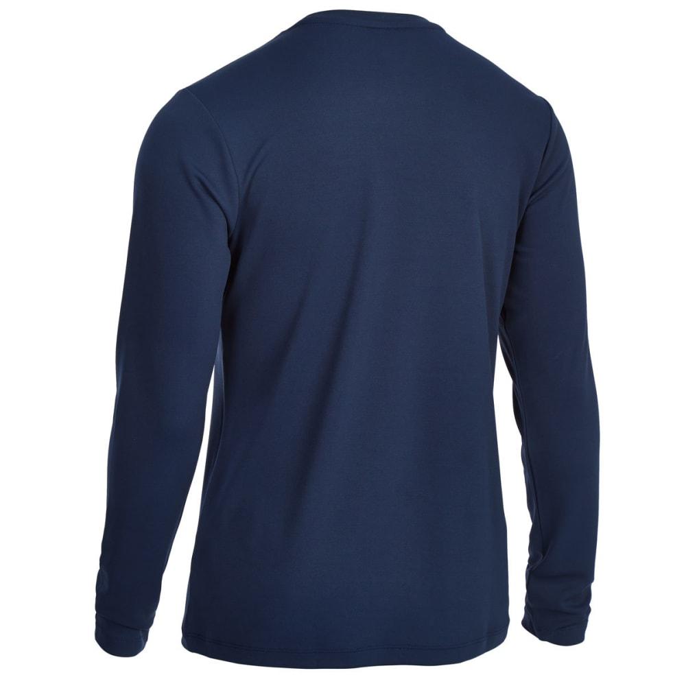 EMS Men's Epic Active Long-Sleeve Shirt - NAVY BLAZER