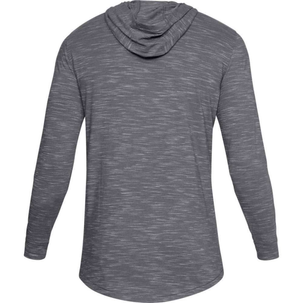 UNDER ARMOR Men's Sportstyle Core Hoodie - GRAPHITE/BLACK-040