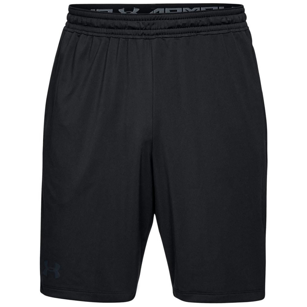 UNDER ARMOUR Men's 10 in. UA Raid Shorts - BLACK-001