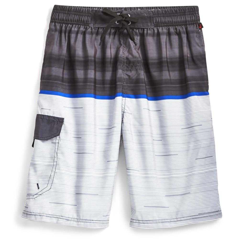 Blue Gear Men's Color-Block Boardshorts