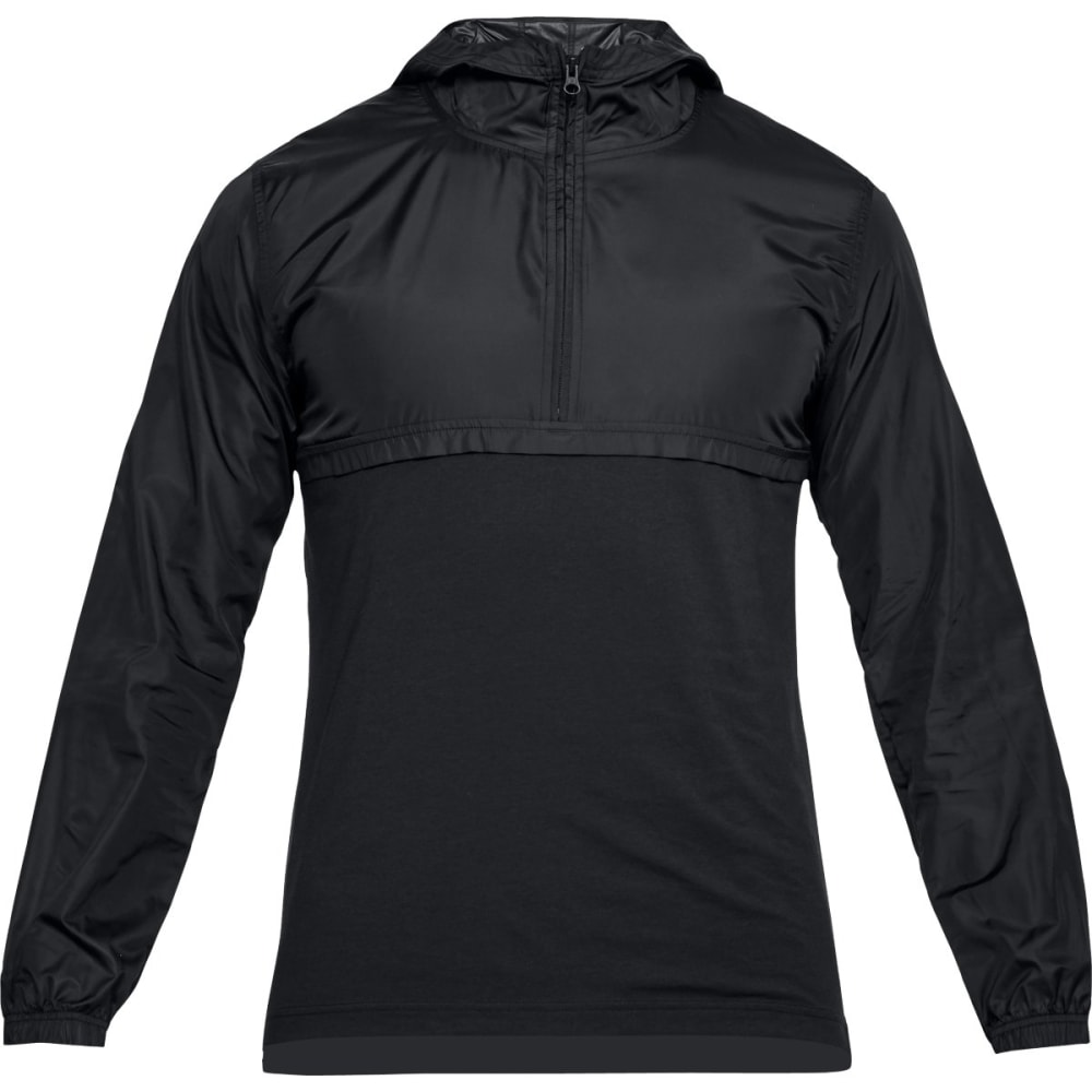 UNDER ARMOUR Men's UA Sportstyle Anorak Jacket - BLACK-001