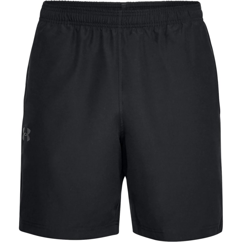 UNDER ARMOUR Men's UA Woven Graphic Shorts - BLACK-001
