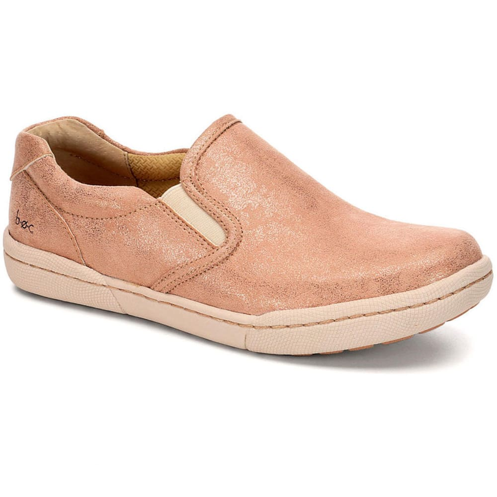 B.o.c. Women's Zamora Slip-On Casual Shoes, Rose Gold - Red, 6.5