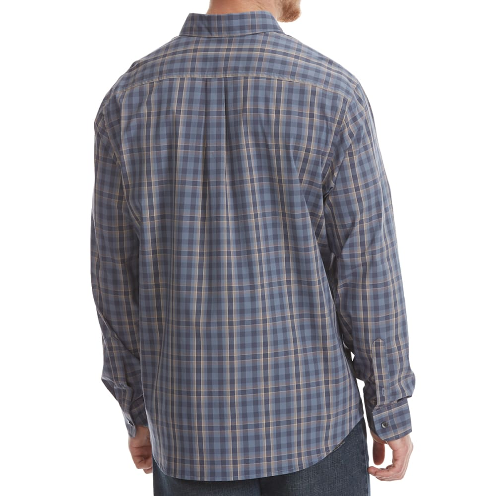 DOCKERS Men's Comfort Stretch Woven Long-Sleeve Shirt - HELENA BLU PLD-0068