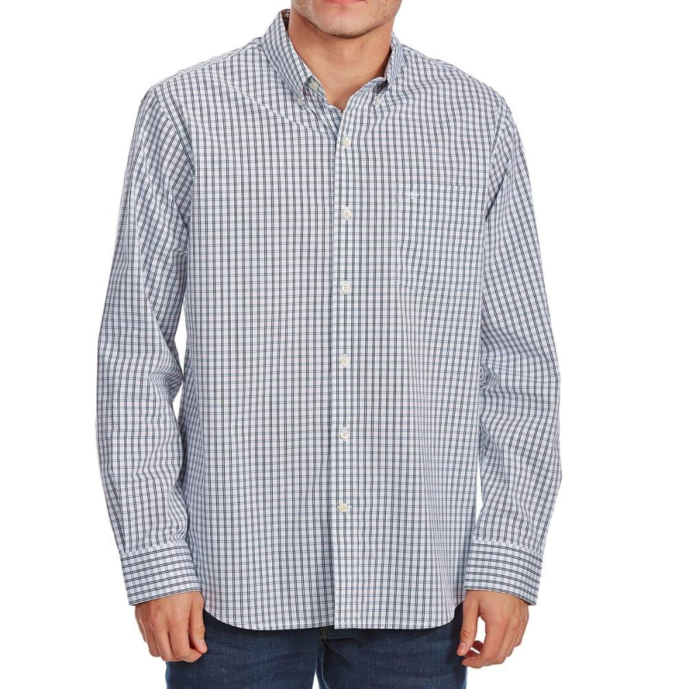 DOCKERS Men's Comfort Stretch Woven Long-Sleeve Shirt - PEMBRK DBL GRID-0013
