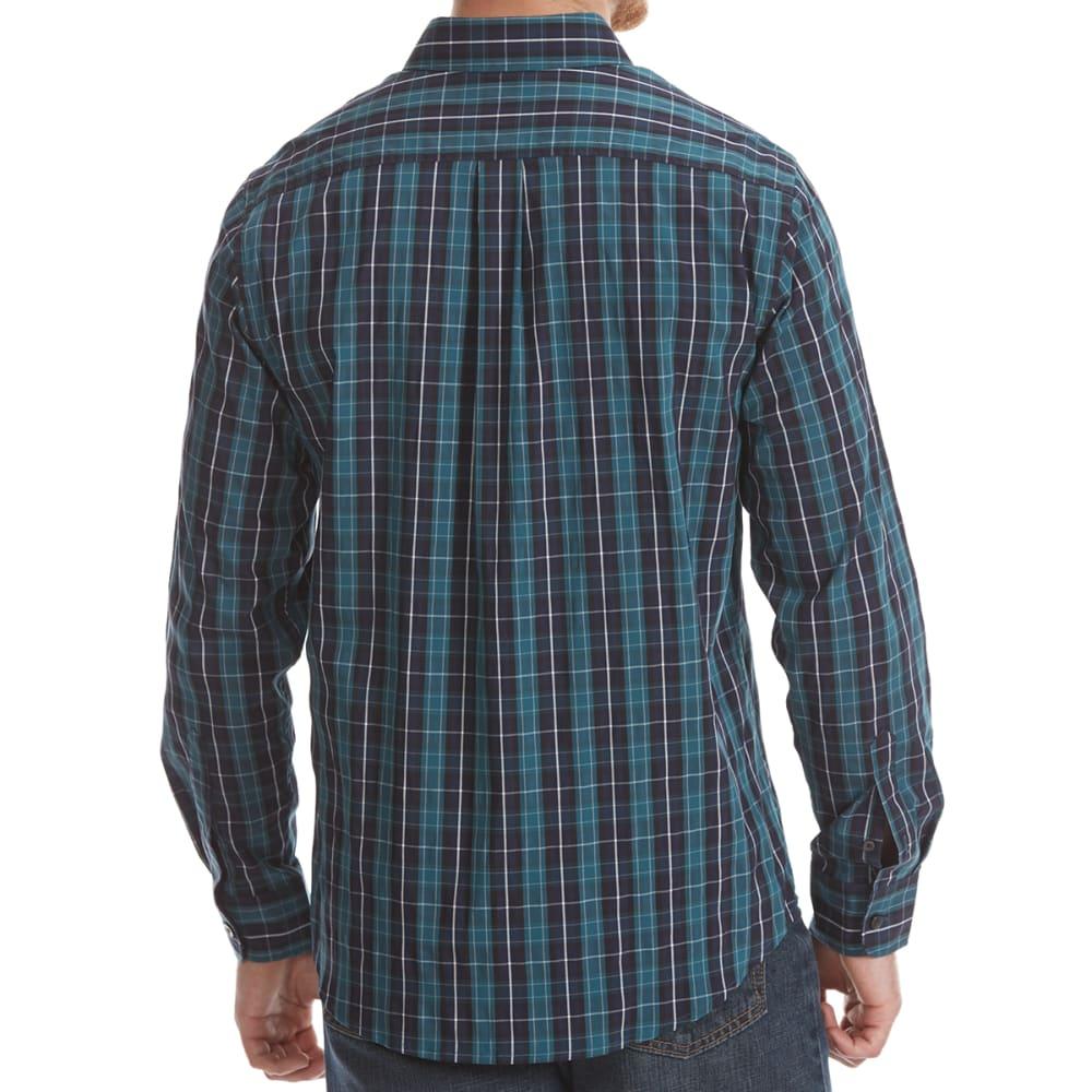 DOCKERS Men's Comfort Stretch Woven Long-Sleeve Shirt - ATLNTC DEEP PLD-0065