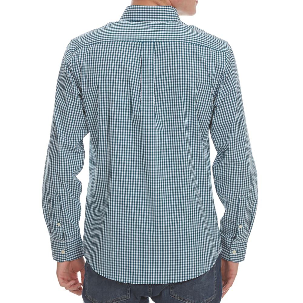 DOCKERS Men's Comfort Stretch Woven Long-Sleeve Shirt - ATLNTC DEEP GRD-0020