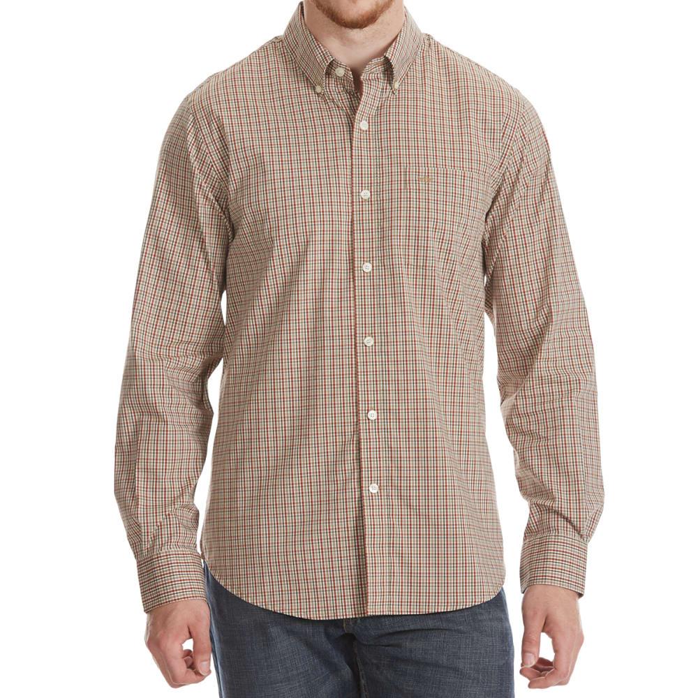 DOCKERS Men's Comfort Stretch Woven Long-Sleeve Shirt - ARABIAN SPC PLD-0060