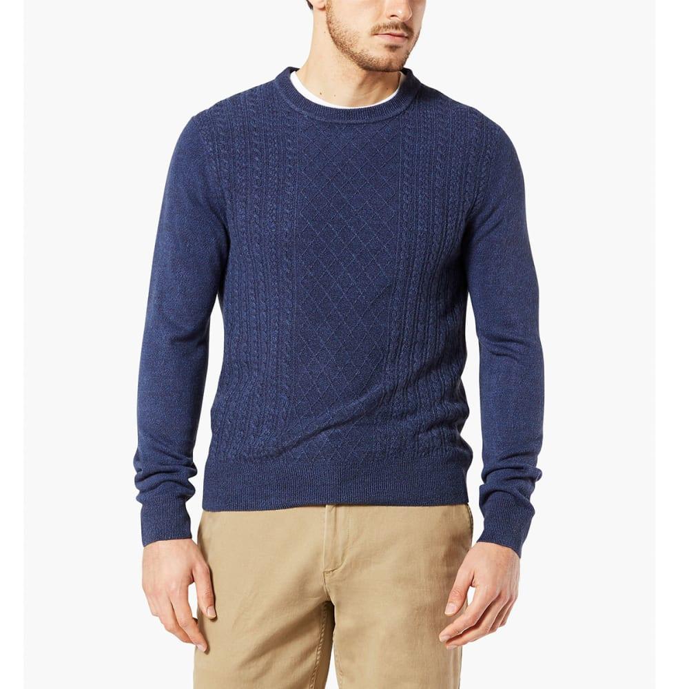 DOCKERS Men's Fisherman Crew Long-Sleeve Sweater - PEMBROKE-0007