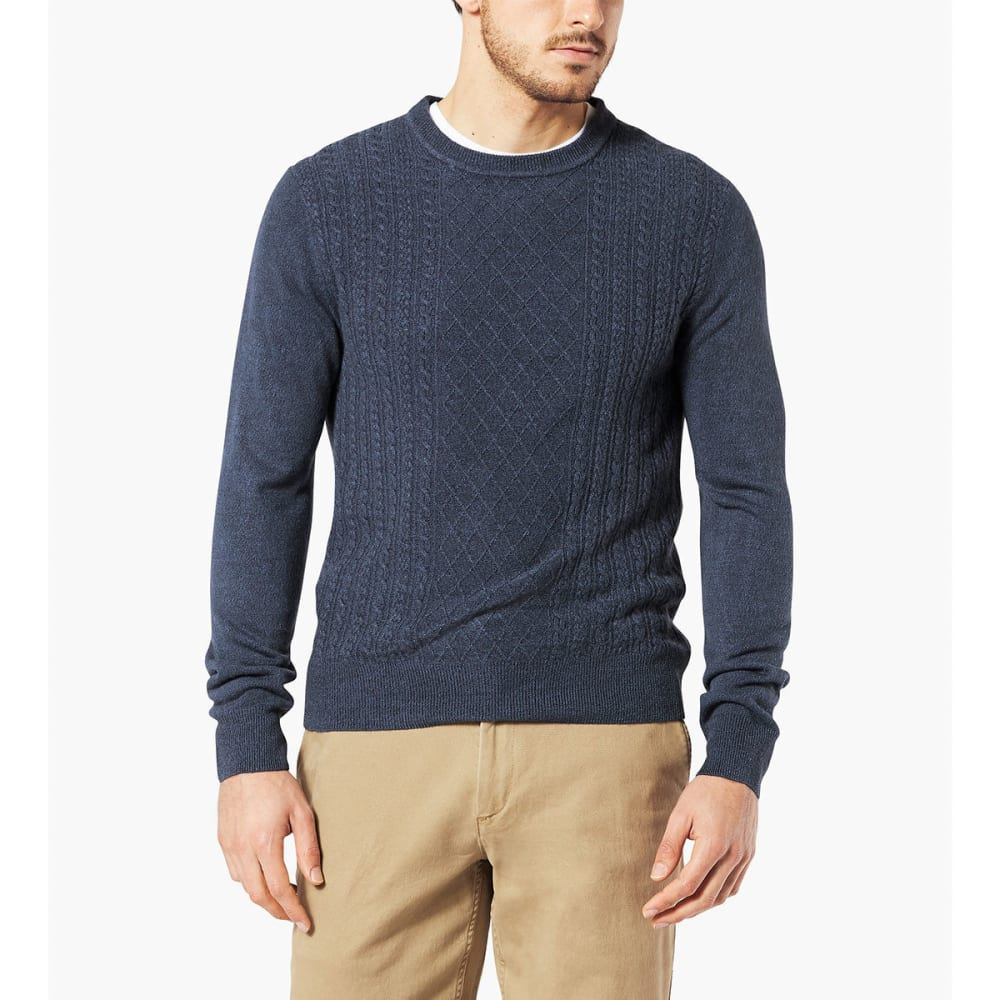 DOCKERS Men's Fisherman Crew Long-Sleeve Sweater - ST HELENA-0021