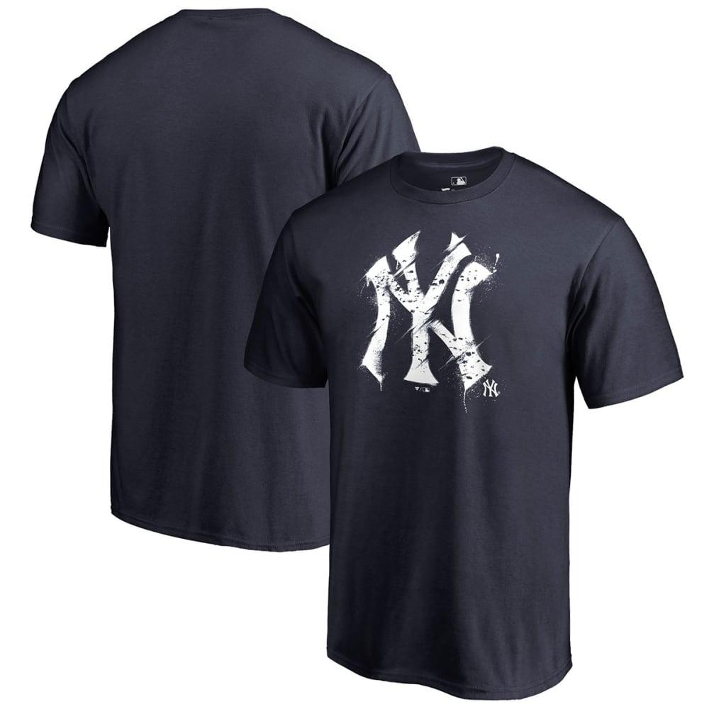 NEW YORK YANKEES Men's Splatter Logo Short-Sleeve Tee - NAVY SP-4754896