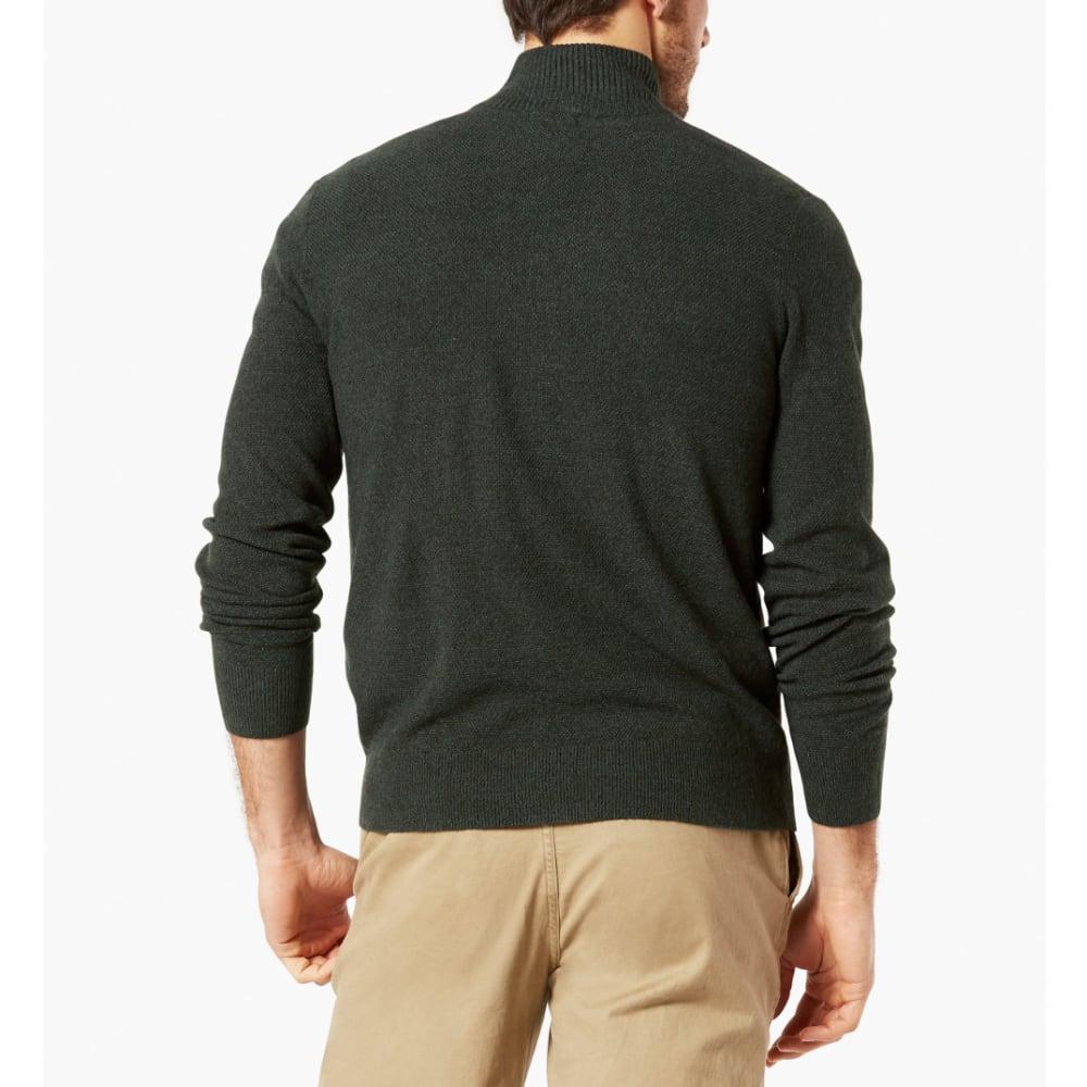 DOCKERS Men's ¼-Zip Textured Long-Sleeve Sweater - PONDEROSA-0004-8322