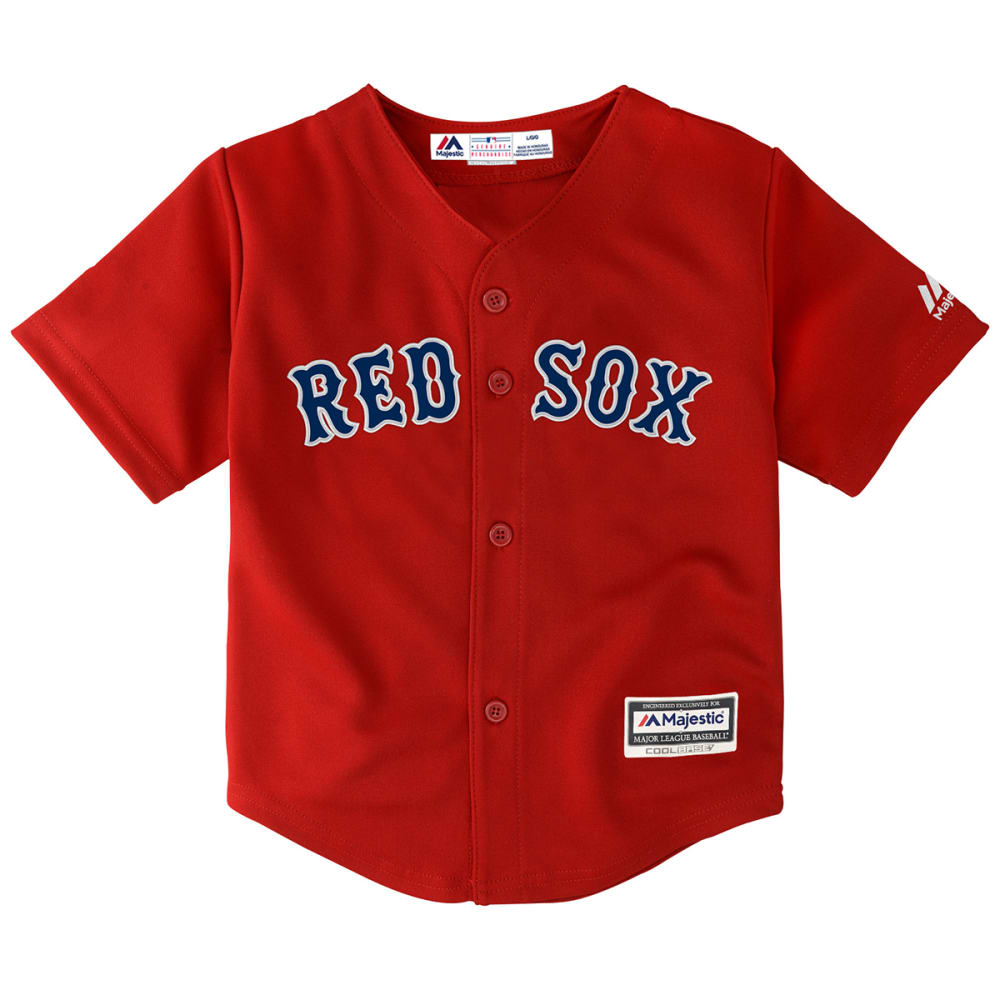 BOSTON RED SOX Toddler Boys' Replica Jersey - RED