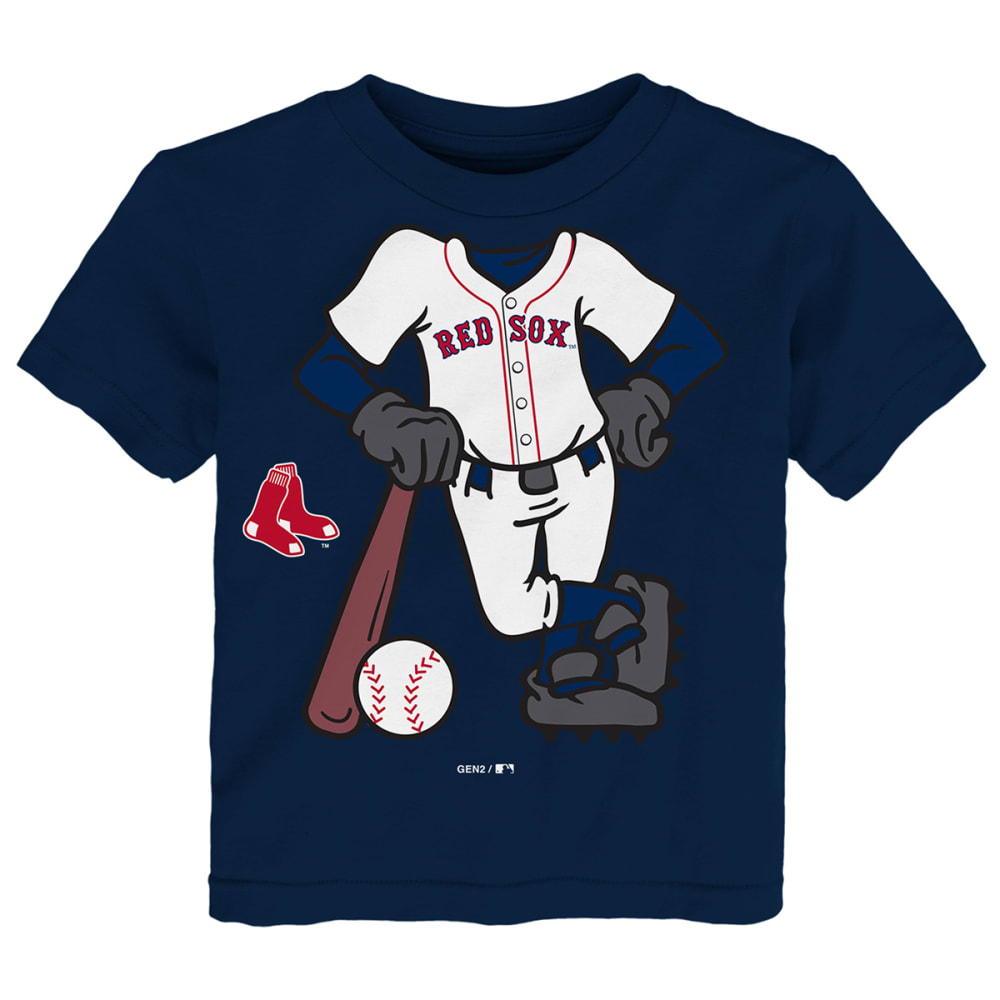 BOSTON RED SOX Toddler Boys' I'm The Batter Short-Sleeve Tee - NAVY