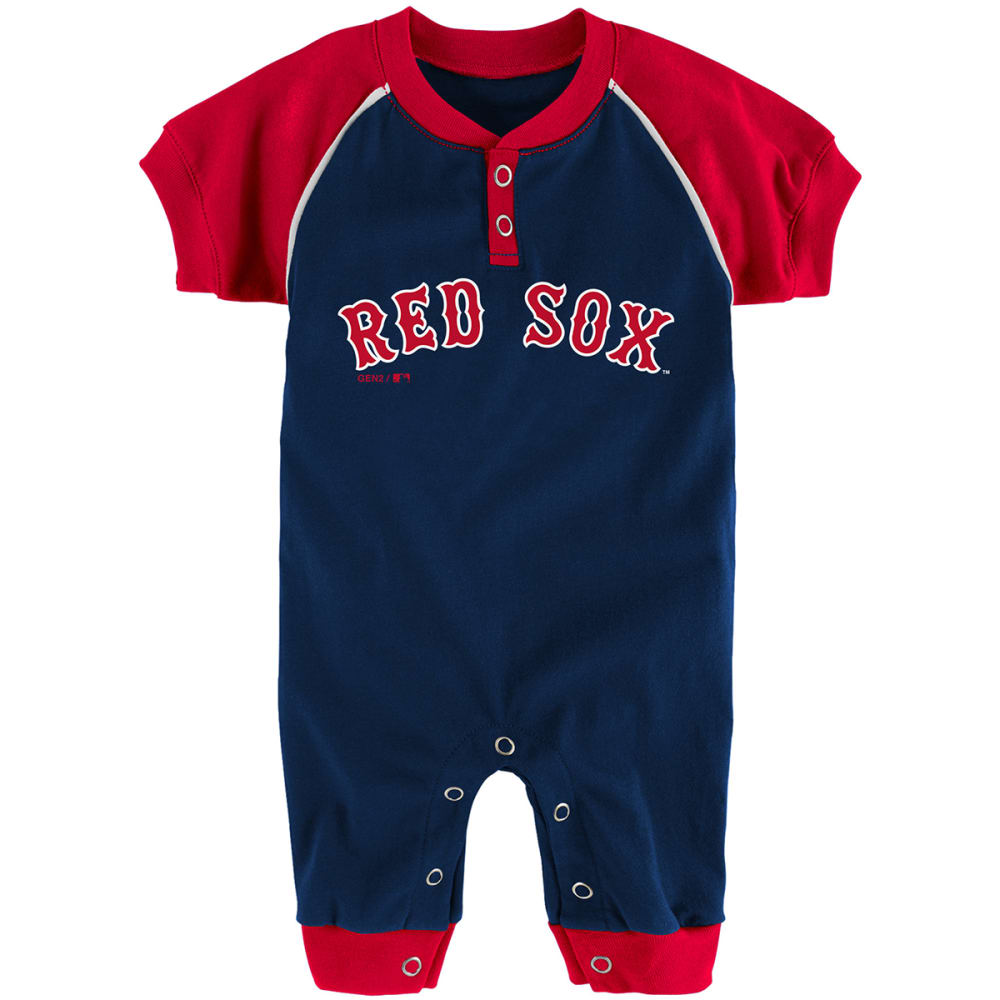 BOSTON RED SOX Infant Boys' Game Time Coveralls - NAVY