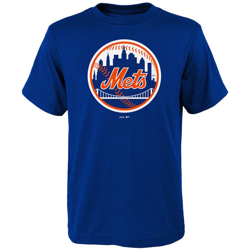 NEW YORK METS Big Boys' Primary Logo Short-Sleeve Tee - ROYAL BLUE