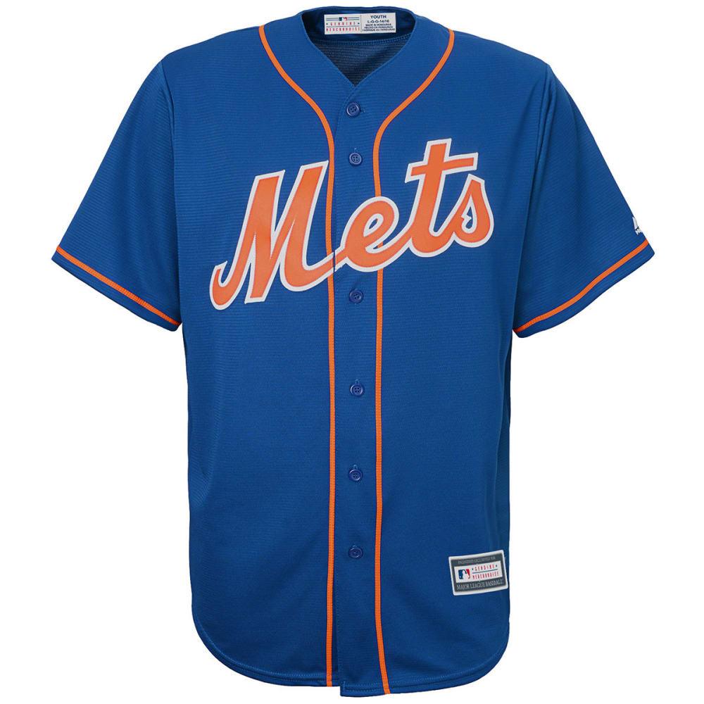 NEW YORK METS Boys' Replica Jersey - ROYAL BLUE