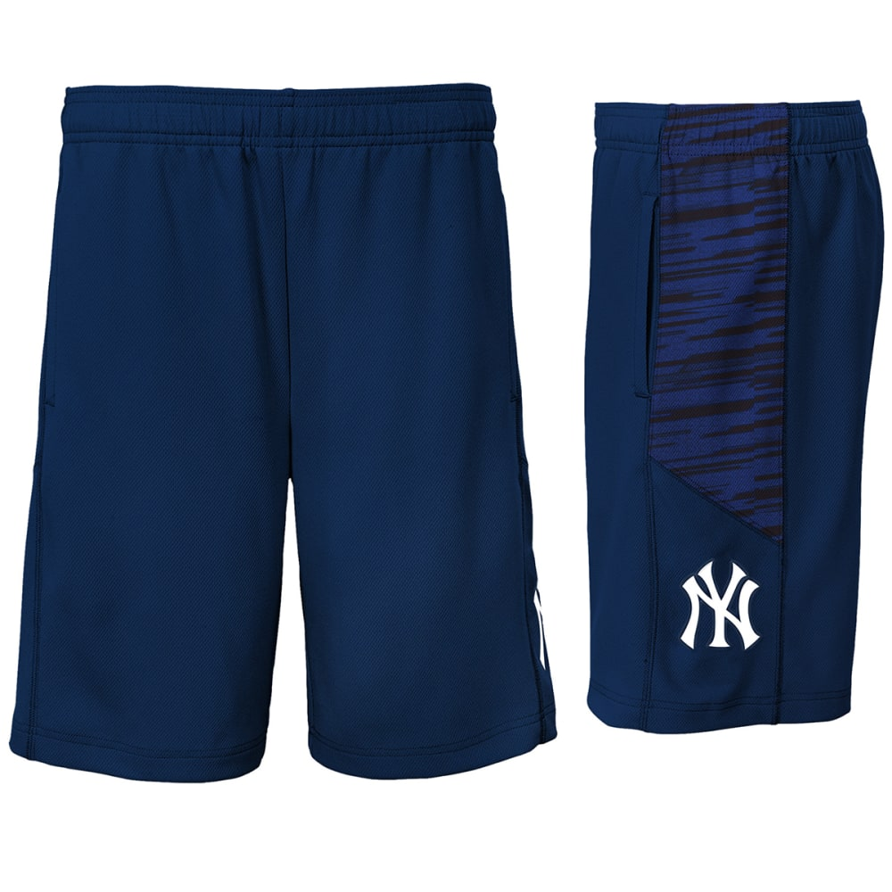 NEW YORK YANKEES Big Boys' Caught Looking Mesh Shorts - NAVY