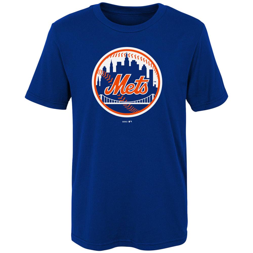 NEW YORK METS Little Boys' Primary Logo Short-Sleeve Tee - ROYAL BLUE