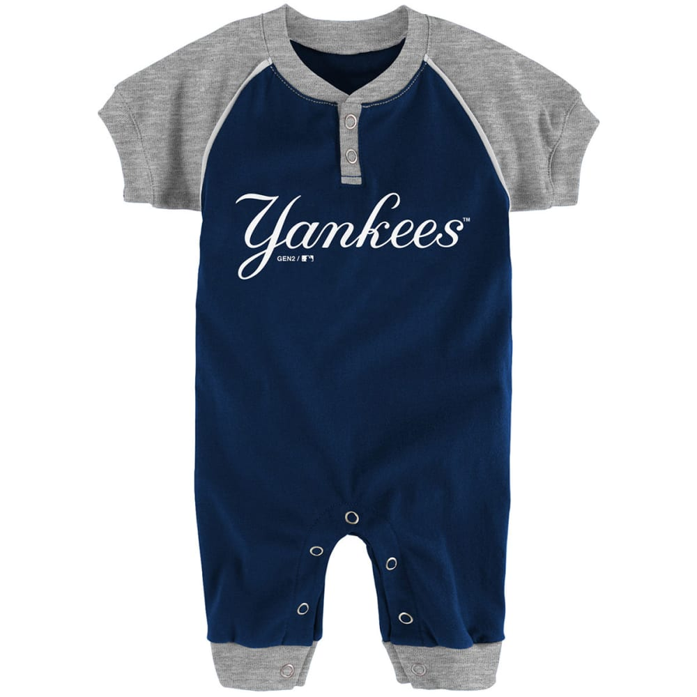 NEW YORK YANKEES Infant Boys' Game Time Coveralls 0-3M