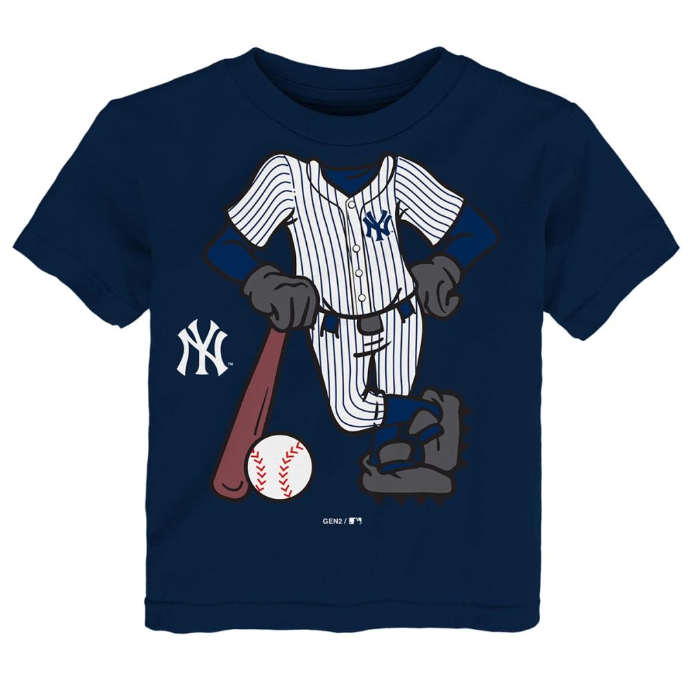 NEW YORK YANKEES Toddler Boys' I'm The Batter Short-Sleeve Tee - NAVY