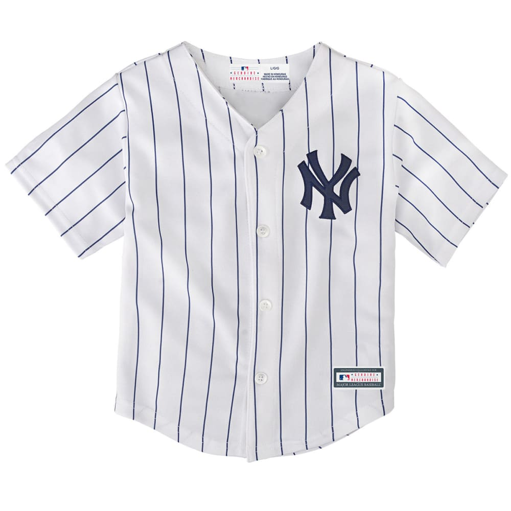 NEW YORK YANKEES Toddler Boys' Home Replica Jersey - WHITE