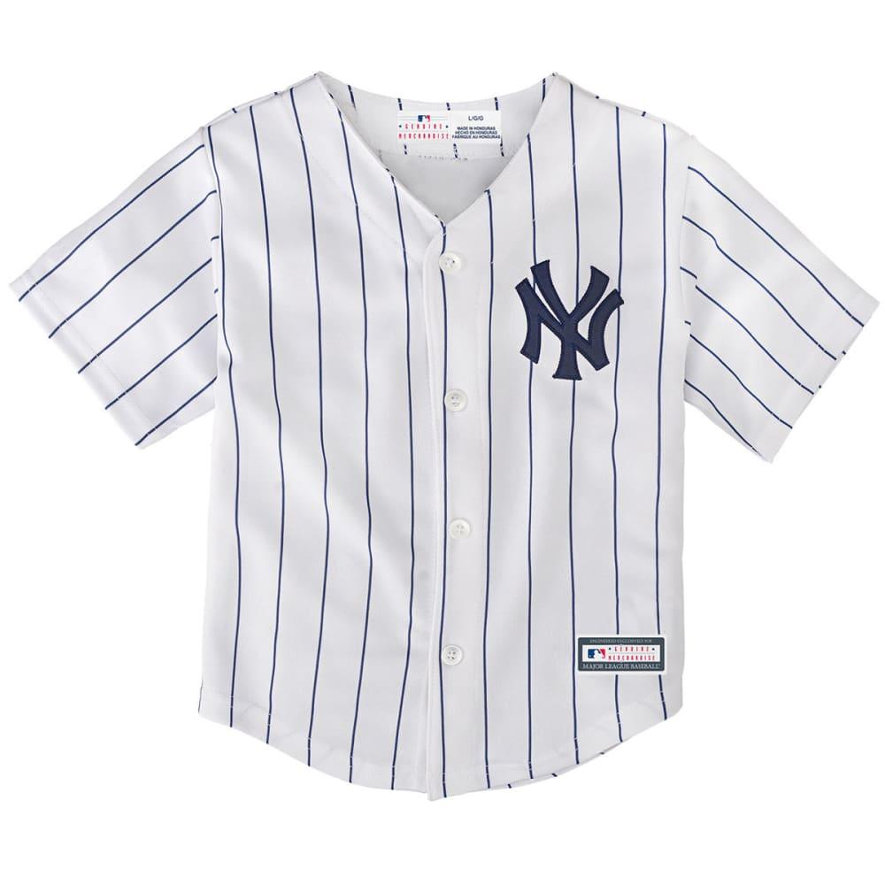 NEW YORK YANKEES Toddler Boys' Home Replica Jersey - WHITE