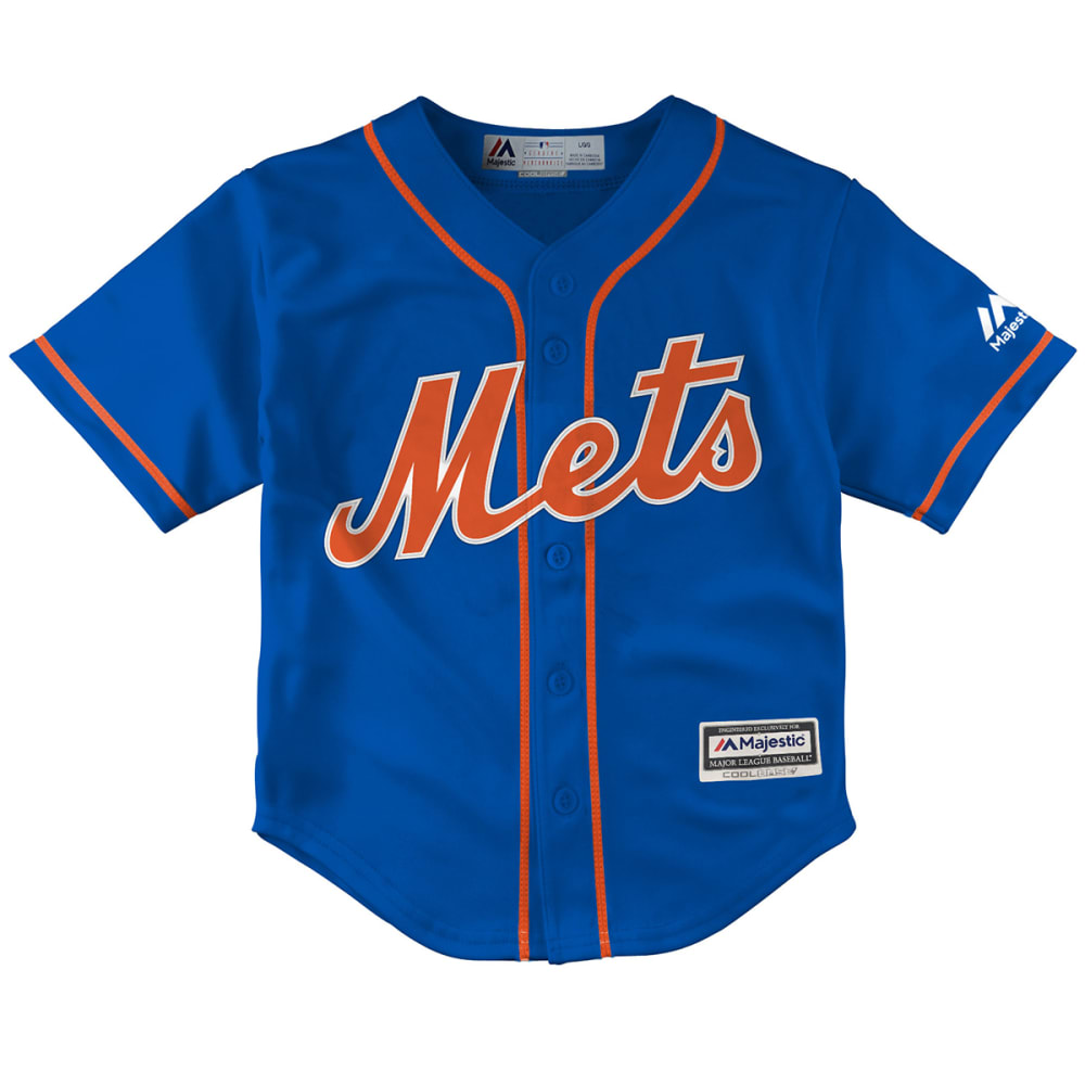 NEW YORK METS Toddler Boys' Replica Jersey - ROYAL BLUE