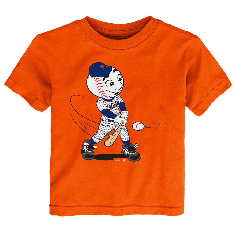 NEW YORK METS Toddler Boys' Mascot Short-Sleeve Tee - ORANGE