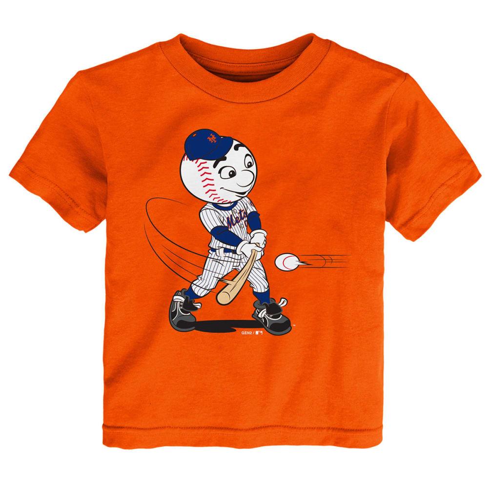 NEW YORK METS Toddler Boys' Mascot Short-Sleeve Tee - ORANGE