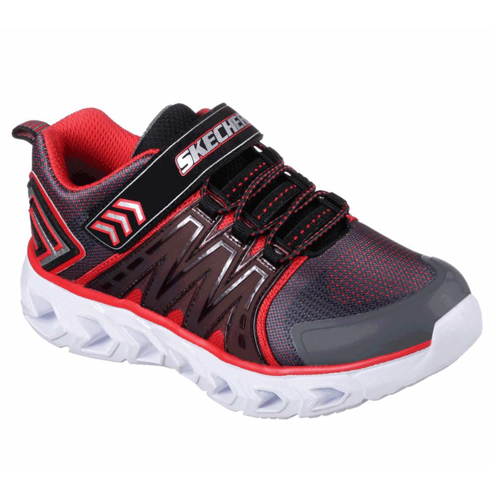 Skechers Boys' S Lights: Hypno-Flash 2.0 Sneakers - Black, 1