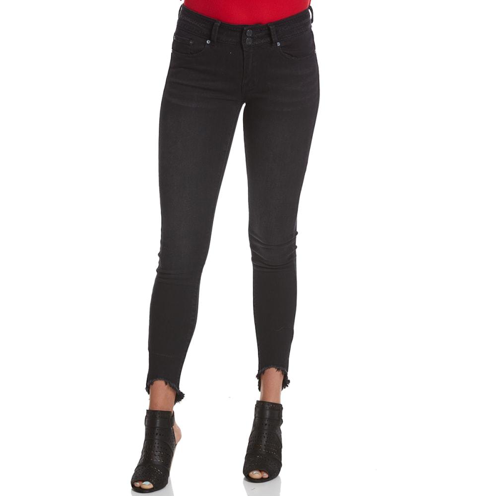 INDIGO REIN Juniors' Hendrix High-Low Hem Skinny Jeans 1