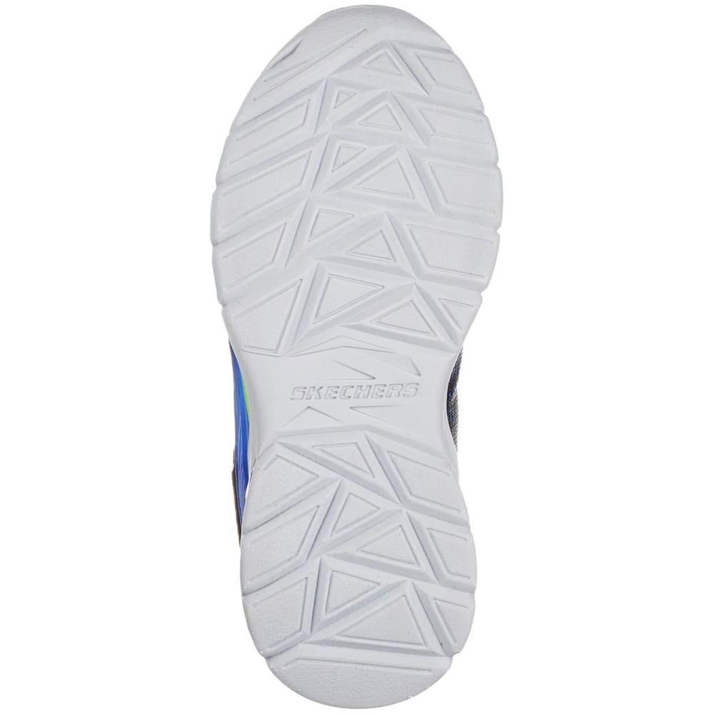 SKECHERS Toddler Boys' S Lights: Erupters II - Lava Waves Sneakers - BLUE