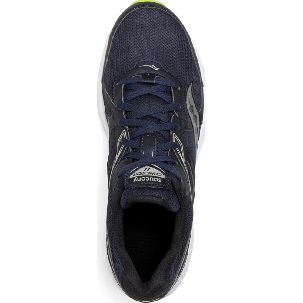 SAUCONY Men's Cohesion 11 Running Shoes - NAVY