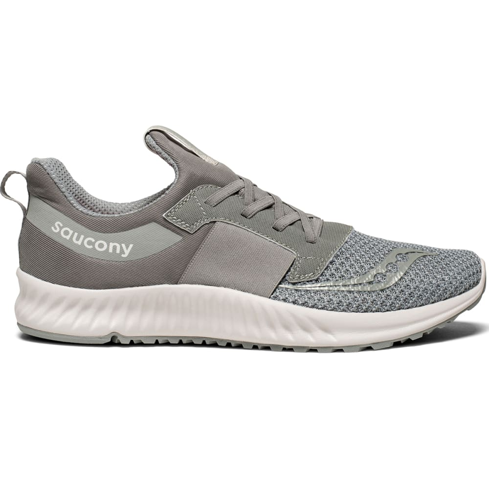 SAUCONY Men's Stretch and Go Breeze Running Shoes - GREY