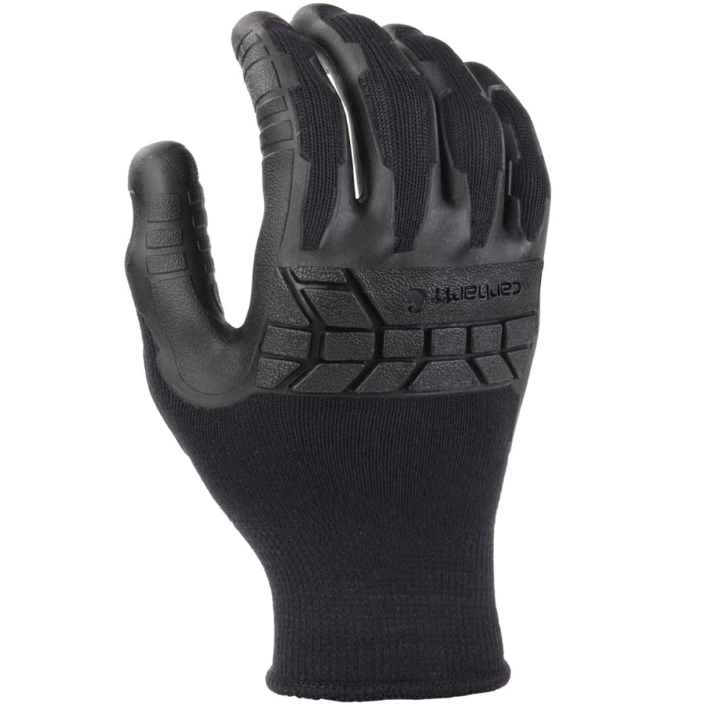 Carhartt Men's C-Grip Knuckler Work Gloves - Black, M