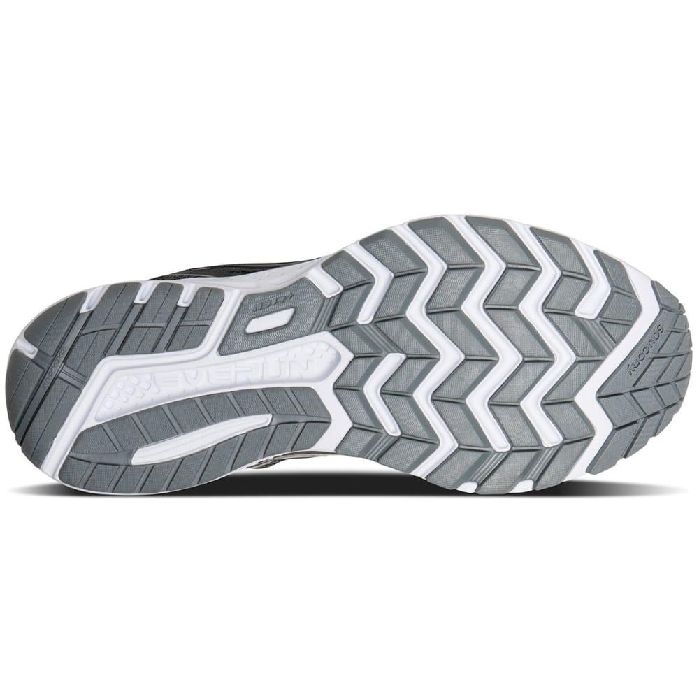 SAUCONY Men's Ride 10 Running Shoes - GUNMETAL