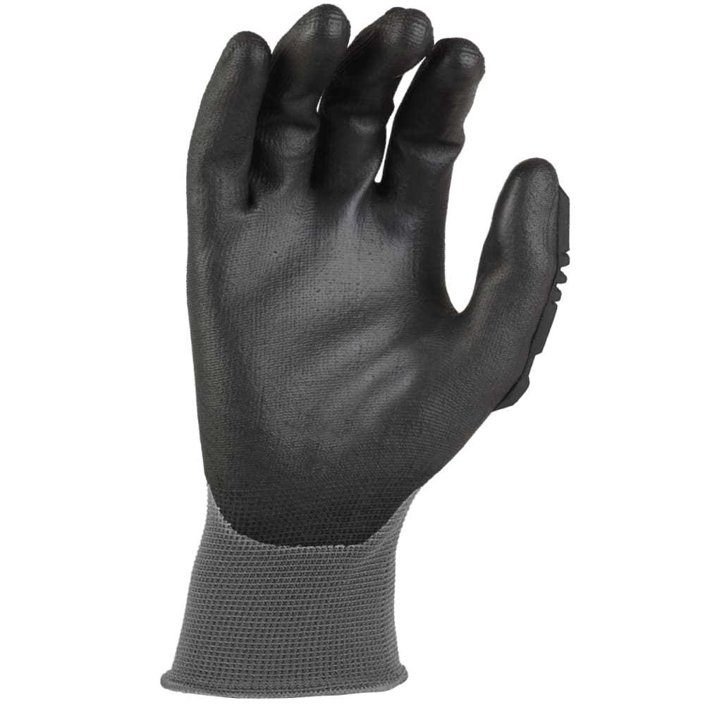 CARHARTT Men's C-Grip Impact Hybrid Work Gloves - BLACK