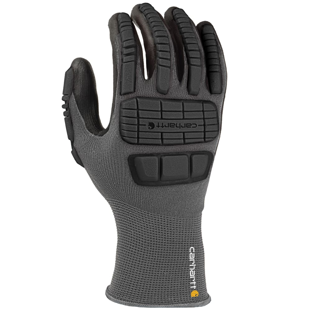 CARHARTT Men's C-Grip Impact Hybrid Work Gloves - BLACK