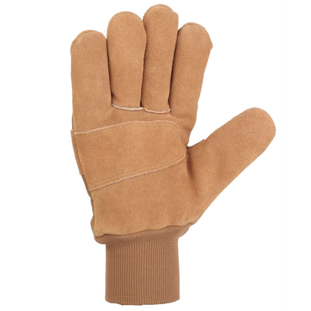 CARHARTT Men's WB Suede Work Gloves - BROWN